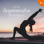 Guided Suryanamaskar by The Art of Living show