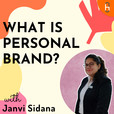 Personal Branding by Janvi Sidana show