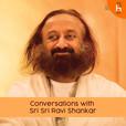 Conversation Sri Sri Ravi Shankar's show