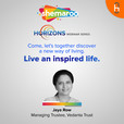 Sheamroo Horizons- 'Live an Inspired Life' by Mrs. Jaya Row (Managing trustee, Vedanta Trust) show