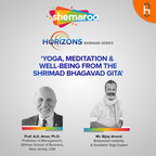 Shemaroo Horizons- 'Yoga, Meditation & Well-being from the Shrimad Bhagavad Gita' by Prof. A D Amar (Stillman School of Business, New Jersey) & Mr. Bijay Anand (Bollywood celebrity & Kundalini Yoga Expert). show
