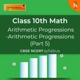 Arithmetic Progressions (Part 5) | Arithmetic Progressions| CBSE | Class 10 | Math show