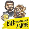 Bier und makellose Zähne show