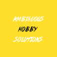 Ambiguous Hobby Solutions show