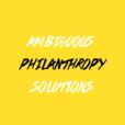 Ambiguous Philanthropy Solutions show
